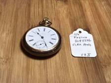 Antique Regina 3095596 Gold Filled 17 Jewel Pocket Watch