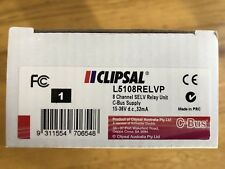 Clipsal L5108RELVP C-Bus 8 Channel Low Voltage Relay - New in Box