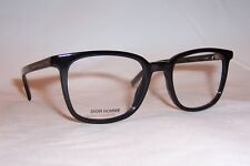 f531bcfe17ee NEW DIOR HOMME CD EYEGLASSES BLACK TIE 252 807 BLACK 51mm RX AUTHENTIC