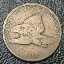 1858 USA  - ONE CENT - Flying Eagle  - Nice DETAILS - FLYING EAGLE