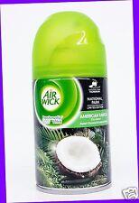 1 Air Wick Freshmatic AMERICAN SAMOA Coconut Automatic Spray Refill Air Freshen