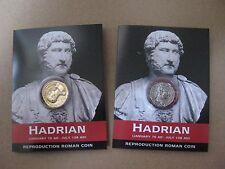 ADRIANO-ROMAN COIN Pack-Denarius e Aureus