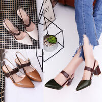 Ladies Women Shallow Mouth Pointed Pumps Shoes Casual Party High Heels Shoes