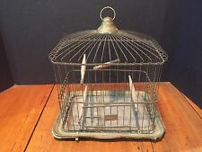 Antique Canary Parakeet Bird Cage c. 1881