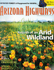Arizona Highways March 2003 -- Petrified Forest, Arid Wildland, Picnic Spots