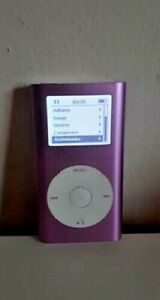 ipod Mini 2nd Generation 4GB Pink Model Number A1051 Tested