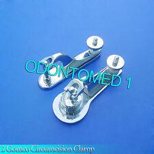 2 PCS Gomco Circumcision Clamp 1.3cm & 1.9cm Surgical Instruments