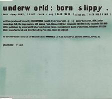 UNDERWORLD - Born Slippy (UK 3 Track CD Single Pt 2)