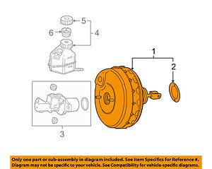 Mercedes MERCEDES-BENZ OEM 10-14 E350-Power Brake Vacuum Booster 0054308530