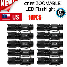 10 x UltraFire Military XM-L T6 12000LM LED Flashlight  Police Torch Lamp