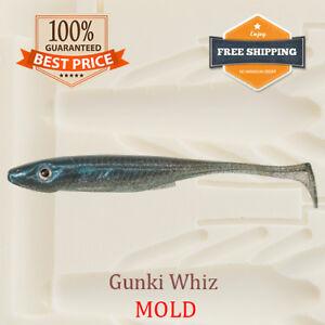 Whiz Shad Fishing Mold Lure Bait Soft Plastic 75-100 mm