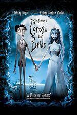"Tim Burton's Corpse Bride Puppet animation film Fabric poster 36"" x 24"" Decor 01"