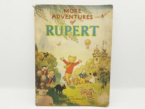 More adventures of Rupert: the Daily Express annual (1947) Vintage Children Book