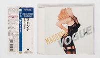 MADONNA Vogue EP Japan Maxi CD Collectors Series WPCR-1507 1997 w/Obi