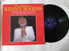 THE FABULOUS KENNY ROGERS LP SHM 3228 uk hallmark 1988, VINYL NR.MINT.