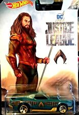 NEW 2017 AQUAMAN BLVD Bruiser Hot Wheels Die Cast Car DC Justice League NIP
