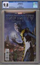 Infinity 1 2 3 4 5 6 CGC 9.8 Lee Variant War Black Order Avenger Thanos Gauntlet