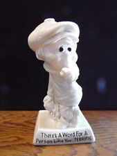 Retro R W Berries 1970 Figurine There's A Word for Person Like You Terrific