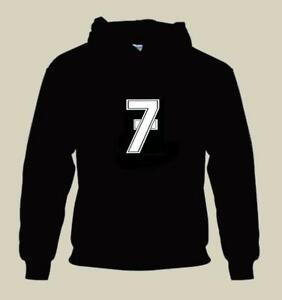 LUCKY 7 HOODIE BARRY SHEENE SEVEN YELLOW GOLD WHITE RED BLACK NAVY LIGHT BLUE