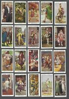 1932 John Player Dandies Tobacco Cards Complete Set of 50