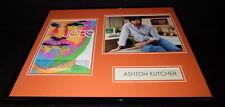 Ashton Kutcher Signed Framed 16x20 Photo Display as Steve Jobs AW