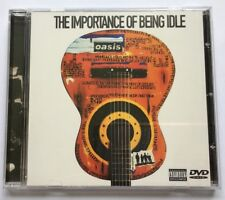 OASIS THE IMPORTANCE OF BEING IDLE very rare UK DVD Single Brand New