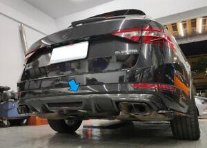 Fit for 2015-2021 Skoda Superb Combi III Estate Wagon Rear Diffuser Carbon Fiber