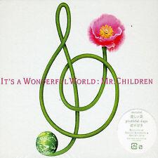RARE Sealed NEW Japanese CD + Book Mr Children It's A Wonderful World  2002