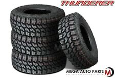 4 X Thunderer R408 TRAC GRIP 2 LT285/70R17 121Q E All Terrain Mud Tires