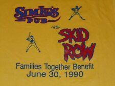 SKID ROW SHIRT MENS XL VINTAGE 1990 SIMKOS PUB SAYREVILLE NJ VERY RARE