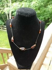 Sweet Brown Necklace (jewelry) Fair Trade Handmade Simple &