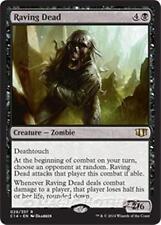 RAVING DEAD Commander 2014 MTG Black Creature — Zombie Rare