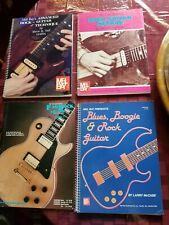 SET 4 ROCK GUITAR INSTRUCTION BOOKS