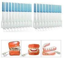 40pcs Interdental Between Teeth Floss Brush Elastic Massage Gum Toothpick Oral