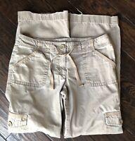 LOFT - Ann Taylor - Women's - Cargo - Pants - Cotton - Brown - Sz 6