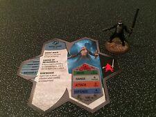 HEROSCAPE hero figurine & carte-Agent Carr