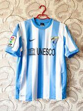 Malaga 2011/2012 Nike Home Football Soccer Shirt Jersey Spain Unesco CF FC