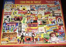 White Mountain 1000 Piece I had one of those!Jigsaw Puzzle LEGO Toys Vintage Art