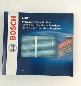 Bosch 6081C  Hepa Cabin Air Filter ,2015-2020 Ford F-150,F-250,FORD super duty