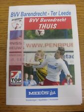 15/03/2014 Barendrecht v Ter Leede [Incorrectly Listed at Noordwijk inside) . An