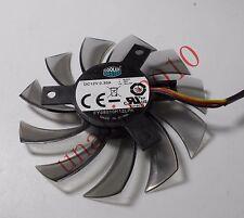 1pc 75mm GIGABYTE XFX Video Card Fan 40mm 3Pin FY08010H12LPA 12V 0.30A