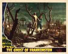 "Ghost Of Frankenstein Movie Poster Replica 11x14"" Photo Print"
