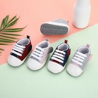 Newborn Baby Kids Girls Boy Splicing Bandage Soft Sole Casual Shoes Single Shoes