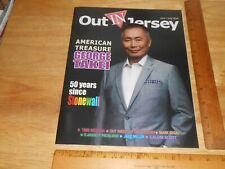 Star George Takei, Fred Rosser,Stonewall Tree Sequoia 2019 Out IN Jersey Mag GAY
