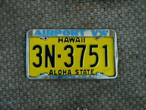 Vw License Plate Frame For Sale Ebay Send other drivers a message with personalized license plate frames. vw license plate frame for sale ebay
