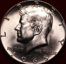 Uncirculated 1965 Philadelphia Mint Silver Kennedy Half