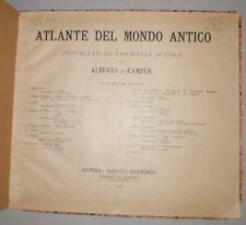 Atlane Mondo Antico Kampen Firenze 1898
