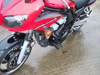 Yamaha Fazer 600 2003 R&G Racing Classic Crash Protectors CP0058BL Black