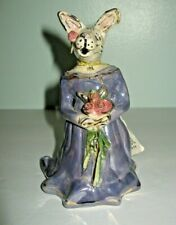 2001 Blue Sky Clayworks Bridesmaid Victoria Rabbit Figurine Original Box