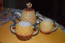Vintage Pineapple Tea Set Made in Japan